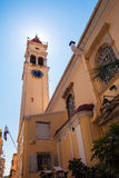 Church of Saint Spyridon of Trimythous, Corfu Stock Image