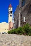Church of Saint Spyridon of Trimythous, Corfu Stock Photo
