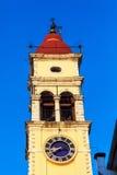 Church of Saint Spyridon of Trimythous, Corfu Stock Photos