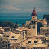 Church of Saint Spyridon of Trimythous, Corfu Town Royalty Free Stock Images