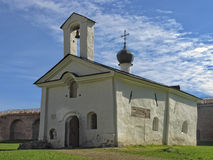 Church of Saint St. Andreas Stratilates  (15th-17th century) Royalty Free Stock Image