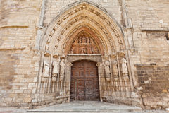 Church of Saint Stephen in Burgos, Spain Royalty Free Stock Photography