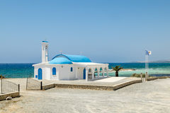 The Church of Saint Thecla on the Mediterranean sea in Ayia NAPA Stock Photo