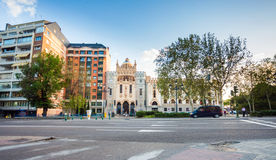 Church of Saint Theresa and St. Jose, Madrid Royalty Free Stock Photos