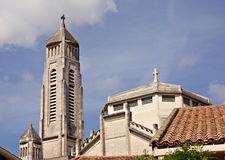 Church saint Therese, Montpellier Stock Photo