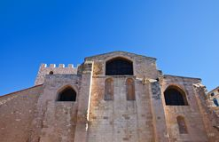 Church of Saint Victor (circa 1200). Marseilles, France Stock Photography