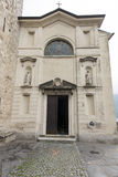 Church of Saint Vigilio, Gandria, Switzerland Royalty Free Stock Images