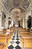 Church of Saint Vigilio, Gandria, Switzerland Royalty Free Stock Photo