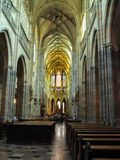 Church Saint Vitus Cathedral in Prague Royalty Free Stock Photos