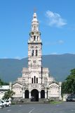 Church of Sainte Anne on Reunion island. France Royalty Free Stock Image