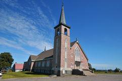 Church of Sainte-Felicite. Is a municipality in the Matane Regional County Municipality of Quebec, Canada, located on the south shore of the Saint Lawrence royalty free stock images
