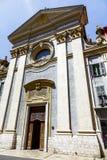 Church Sainte-Francois de Paule Royalty Free Stock Images