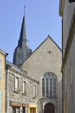 Church of Sainte-Suzanne in France Royalty Free Stock Photo