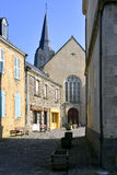 Church of Sainte-Suzanne in France Stock Photography