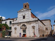 Church of Saints John and Reparata, Lucca, Italy Royalty Free Stock Photography