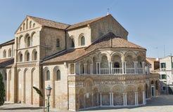 Church of Saints Mary and Donato on Murano island, Italy. Stock Images