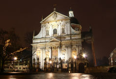 Church of Saints Peter and Paul in Krakow Royalty Free Stock Image