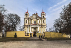 Church of Saints Peter and Paul in Vilnius Royalty Free Stock Images