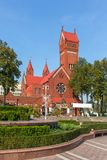 Church Of Saints Simon also known as the Red Church In Minsk, Belarus. Stock Photography