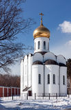 Nikolo-Ugreshsky Monastery, Moscow region, Russia Royalty Free Stock Photos