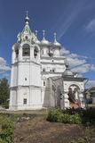 Church for the sake of Saint tsars equal to the apostles Konstantin and Elena in Vologda Stock Images