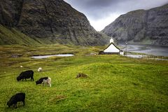 Church in saksun