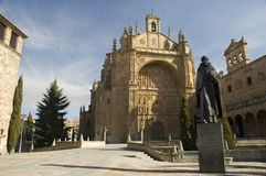 Church in salamanca spain Stock Images
