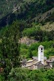 Church, Salbertrand, Piedmont, Italy Stock Photography