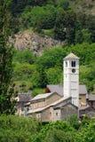 Church, Salbertrand, Piedmont, Italy Royalty Free Stock Photography