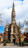 Church of the Salesians in Barcelona Royalty Free Stock Photo