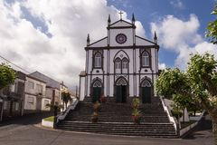 Church in Salga, Sao Miguel, Azores