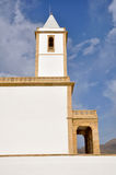 Church of Salinas of Gata cape (Almeria) Stock Photo