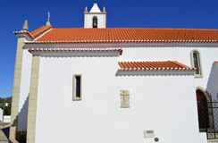 Church of Salir in the Algarve Stock Photos