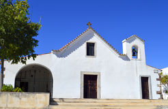 Church of Salir in the Algarve Royalty Free Stock Photo