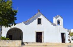 Church of Salir in the Algarve Royalty Free Stock Photo