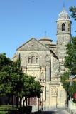 Church of the Salvador Ubeda Jaen province Spain stock image