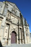 Church of the Salvador  Ubeda  Jaen Spain Stock Photos