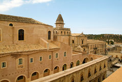 The church of Salvatore at Noto Royalty Free Stock Photo
