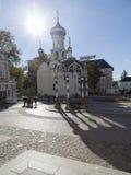 The church in sam sergei abbey,russian federation Stock Photo