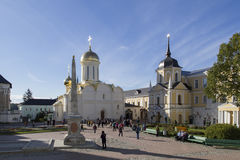 The church in sam sergei abbey,russian federation Stock Photography