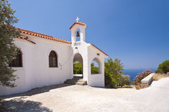 Church on Samos Royalty Free Stock Image