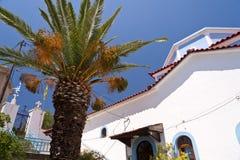 Church on Samos Royalty Free Stock Photos