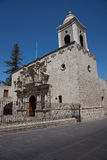 Church of San Agustin in Arequipa Royalty Free Stock Photos