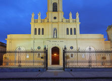 Church in San Antonio de Areco royalty free stock images