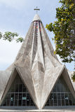 The church of San Antonio de Maputo Royalty Free Stock Image
