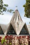 The church of San Antonio de Maputo Royalty Free Stock Photos