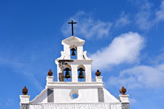 Church of San Bartholomé in Lanzarote Royalty Free Stock Images