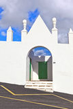Church of San Bartholomé in Lanzarote Stock Photography