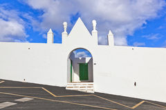 Church of San Bartholomé in Lanzarote Royalty Free Stock Photos