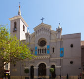 Church of San Bartolome. Murcia Royalty Free Stock Photo